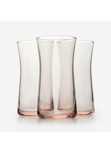 Paşabahçe Paşabahçe 3'lü Haybeli Pembe Meşrubat Bardağı 420845 Renkli